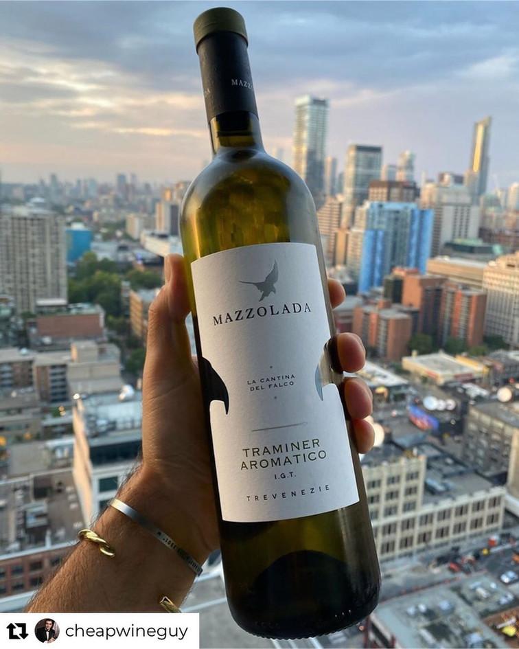 @CHEAPWINEGUY | Mazzolada Aromatico Traminer