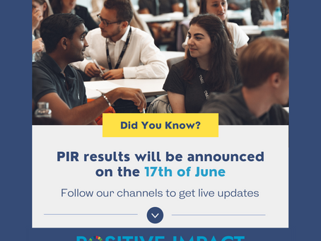 Join us on June 17 for PIR results day!