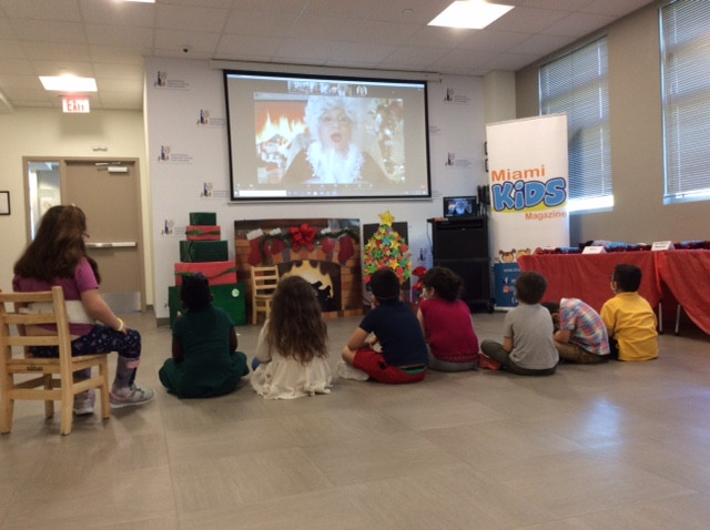 Holiday Celebration at the Miami Lighthouse for the Blind Preschool