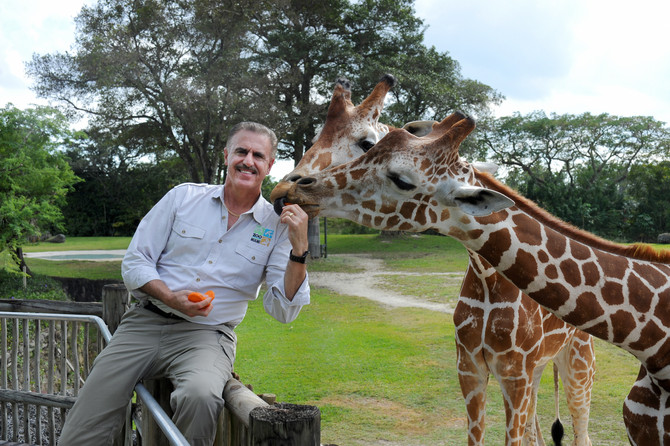 Learning about Zoo Miami with Wildlife Expert Ron Magill