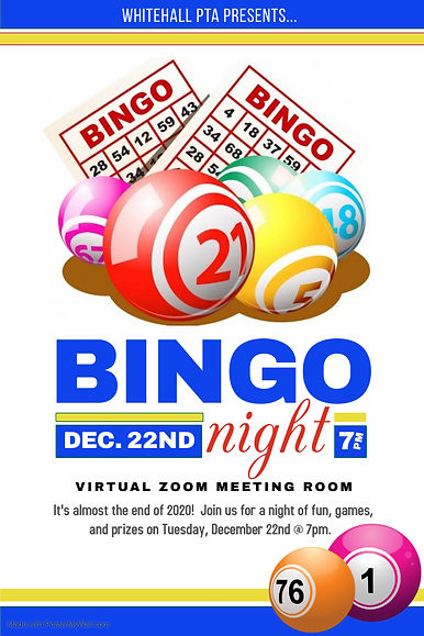 PTA Bingo Flyer - Made with PosterMyWall
