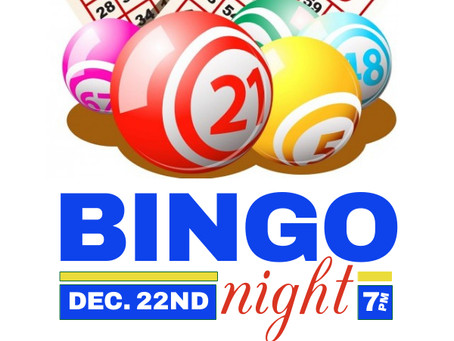 Bingo Night Details