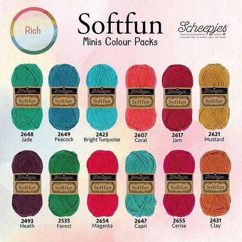Softfun - Minis Colour Pack (Rich)