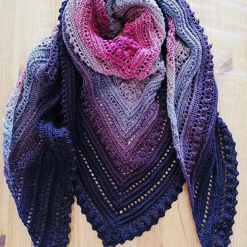 Crochet Shawl - secret paty