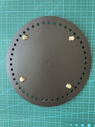 Genuine Leather Bag Base M size ( Round )