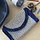 Thumbnail: Crochet Clutch with sequins