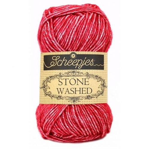 Stone Washed 50g - 807 Red Jasper