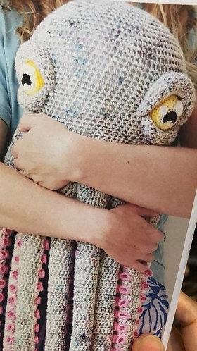 Crochet Octopus - stonewashed Riverwashed - AB - custom