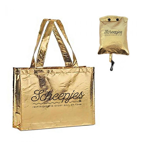 Scheepjes Gold Foldable shopping tote