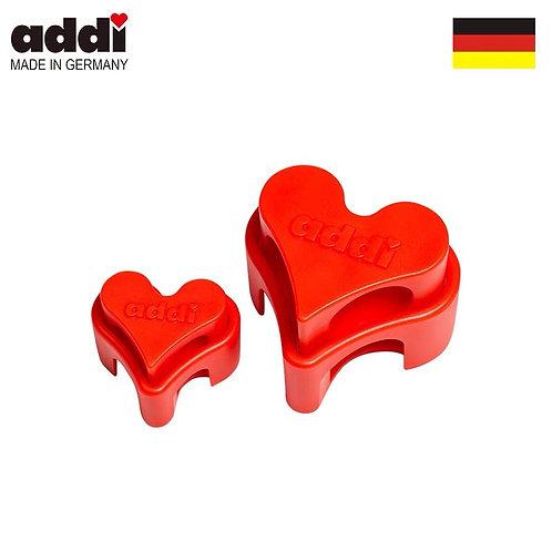 Addi Heart Needle Stopper - 1 set
