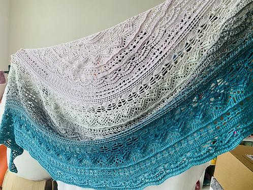 Crochet Shawl - Dafni Smile