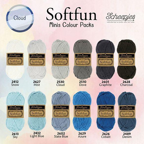 Softfun - Minis Colour Pack (Cloud)