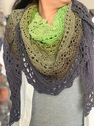 Crochet Shawl - sis love