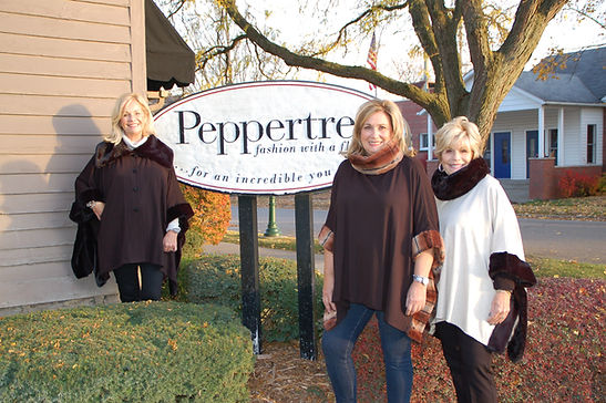 The owners of The Peppertree.