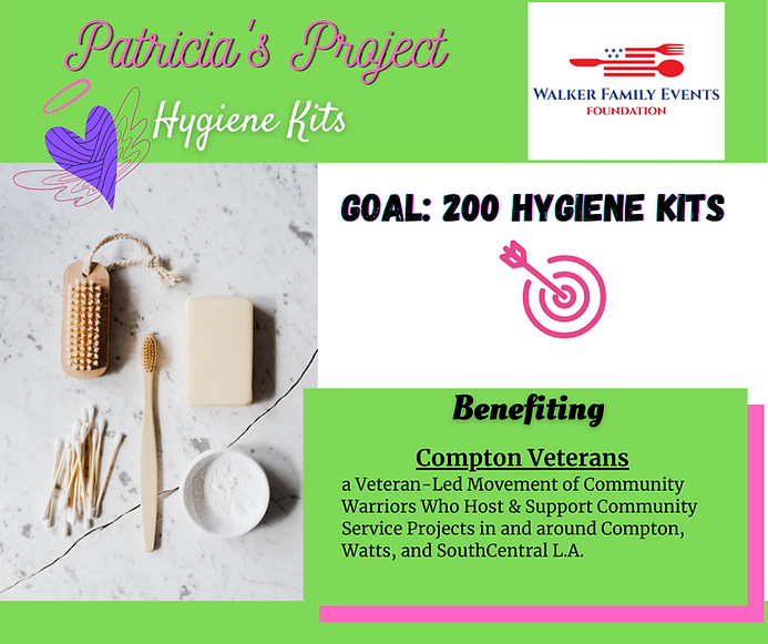 Patricia's Project August 2020