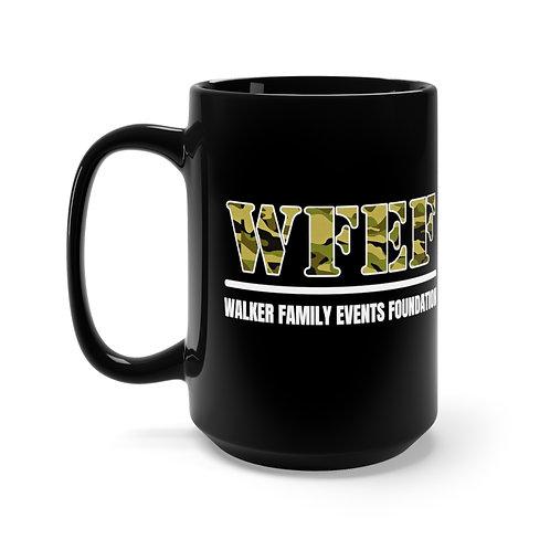 WFEF Black Mug 15oz