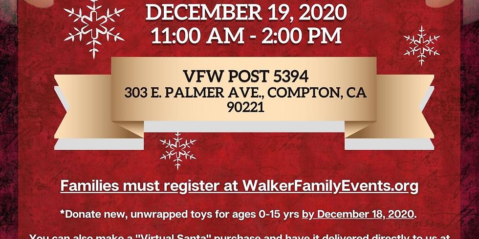 Compton Veterans Drive-thru Christmas Giveaway