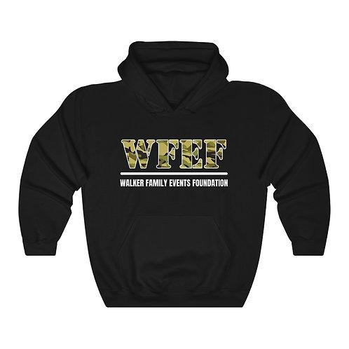 WFEF Camo Lettering Unisex Heavy Blend™ Hooded Sweatshirt
