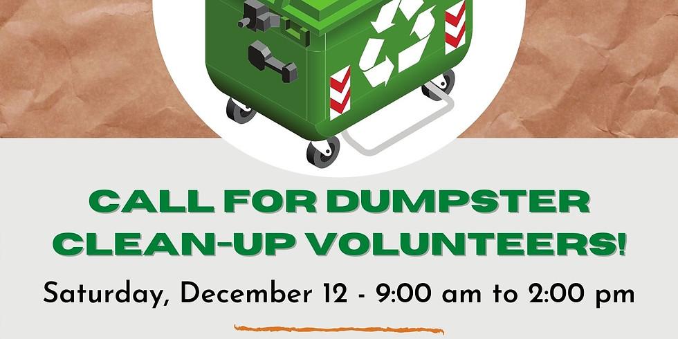 Compton Veterans Dumpster Clean-up