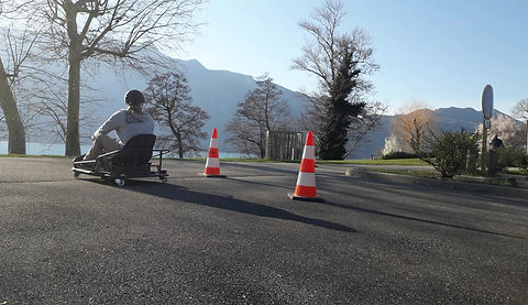 ado en karting de drift electrique