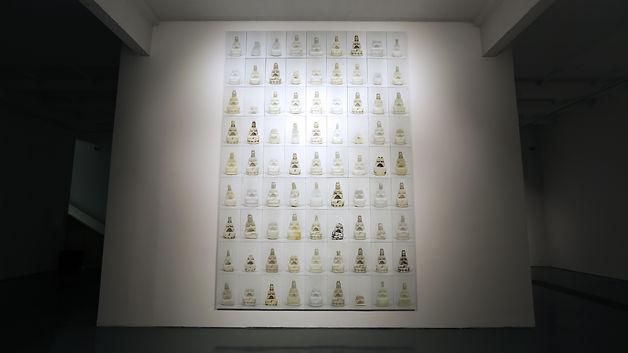 倪有鱼 《观音》 2013北京蜂巢当代艺术中心展览现场.JPG