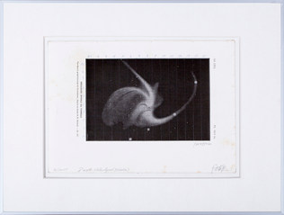 Dust Sketch ( Whirlpool Nebula )