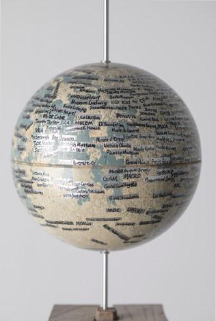 Art-occupied Moon(detail)