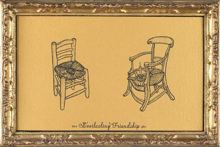 Everlasting Friendship (Van Gogh & Gauguin)