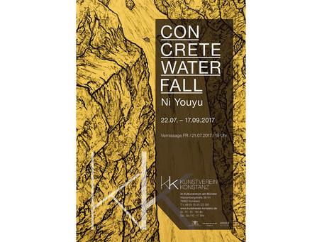Concrete Waterfall - Kunstverein Konstanz 2017