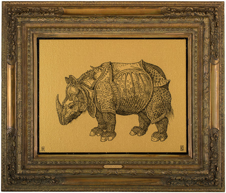 Rhinocervs (Homage to Albrecht Dürer)