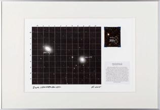 Dust Sketch(NGC 1549 and NGC 1533)