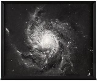 Dust ( Pinwheel Galaxy:Heic0602 )