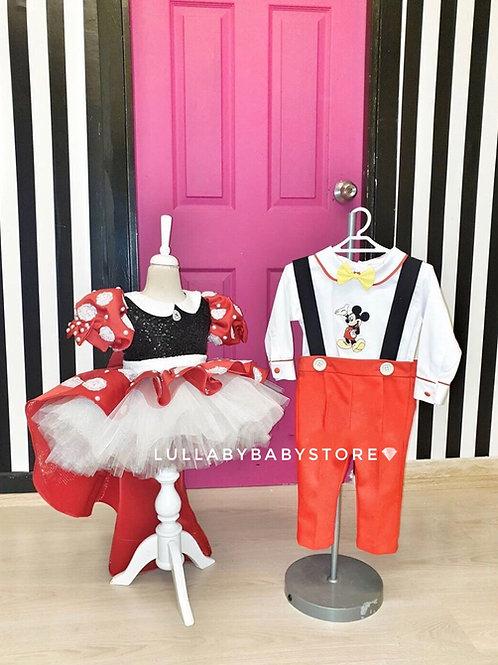 Minnie & Mickey Mouse Dress