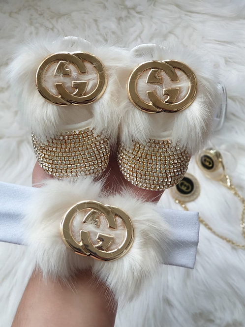 Luxury Fur Shoes