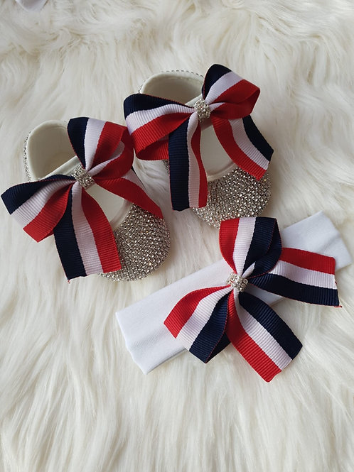 Cutie bow luxury shoes
