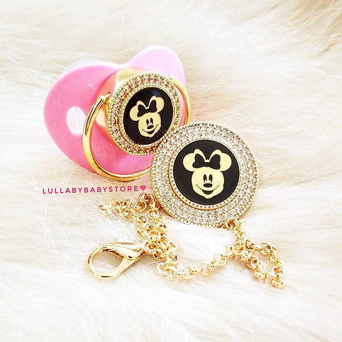 Minnie & Mickey Mouse pacifier