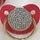 Thumbnail: Plain swarovski crystall pacifier