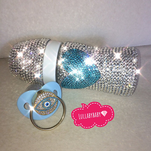 Full Crystal Swarovski Chicco Bottle