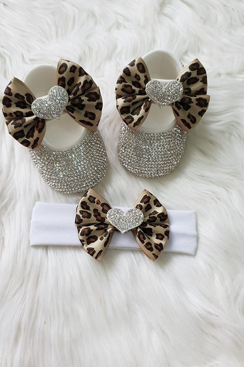 Love Heart design Baby Shoes