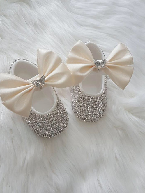 Butterfly design baby shoes