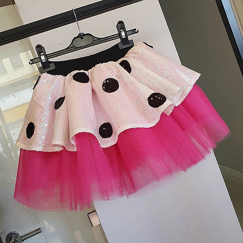 Minnie mouse skirt & top