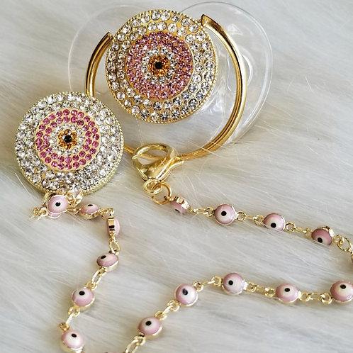 Evil eye chain detailed set