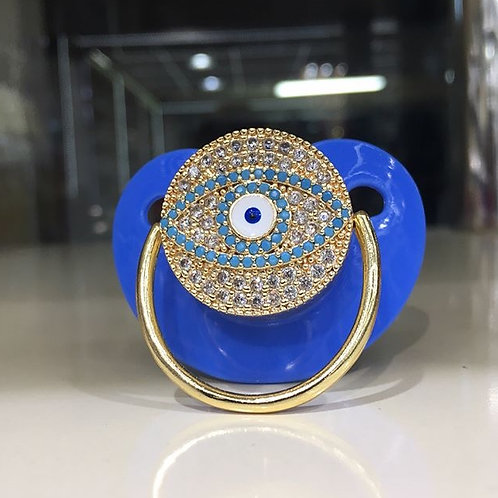 Evil eye pacifier