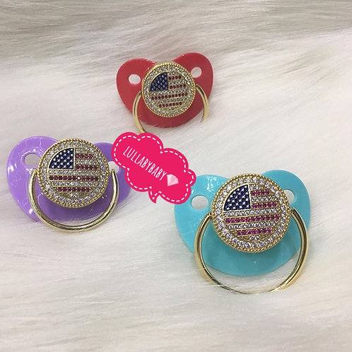 American baby pacifier