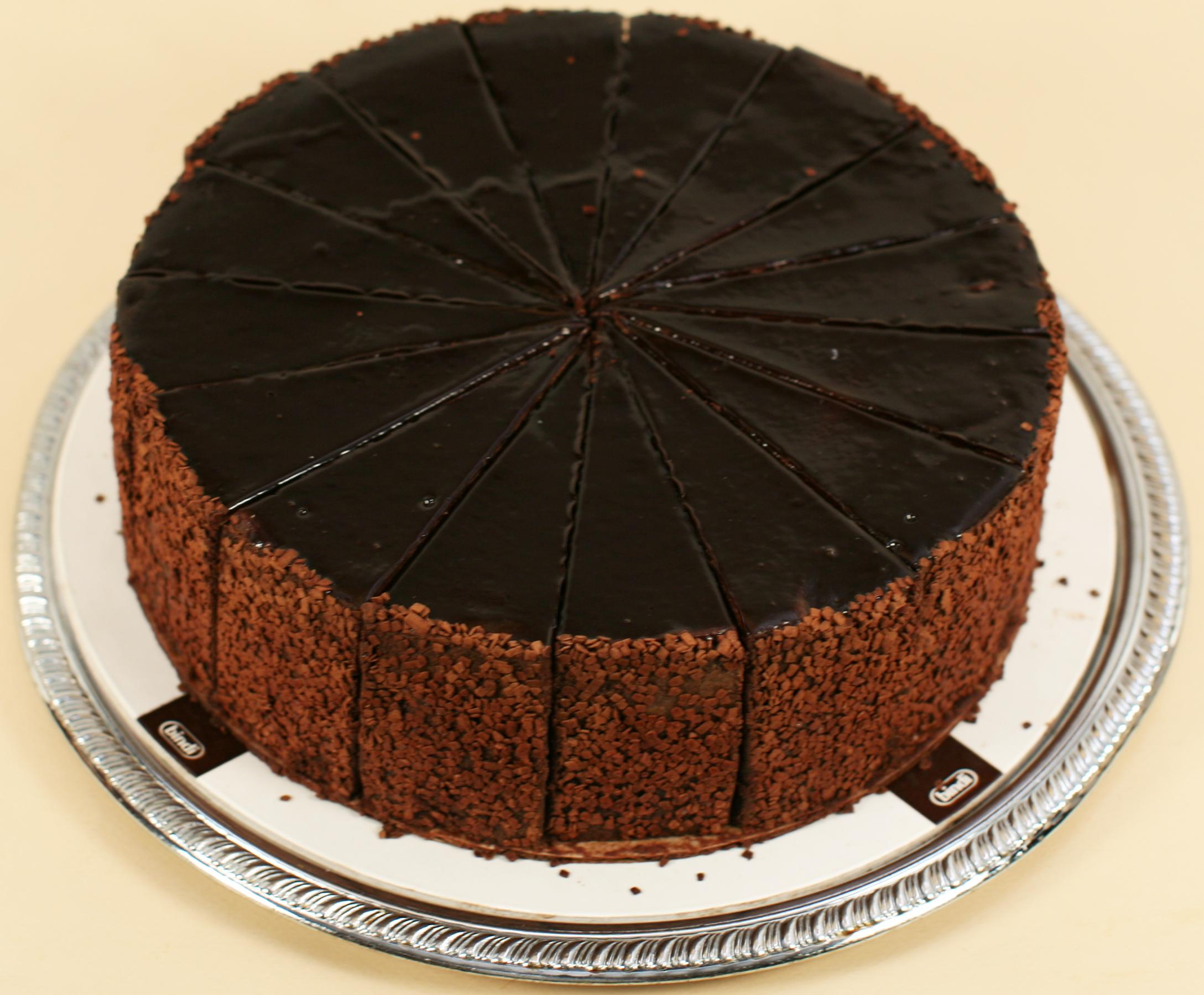 a-CHOCOLATE FONDANT CAKE