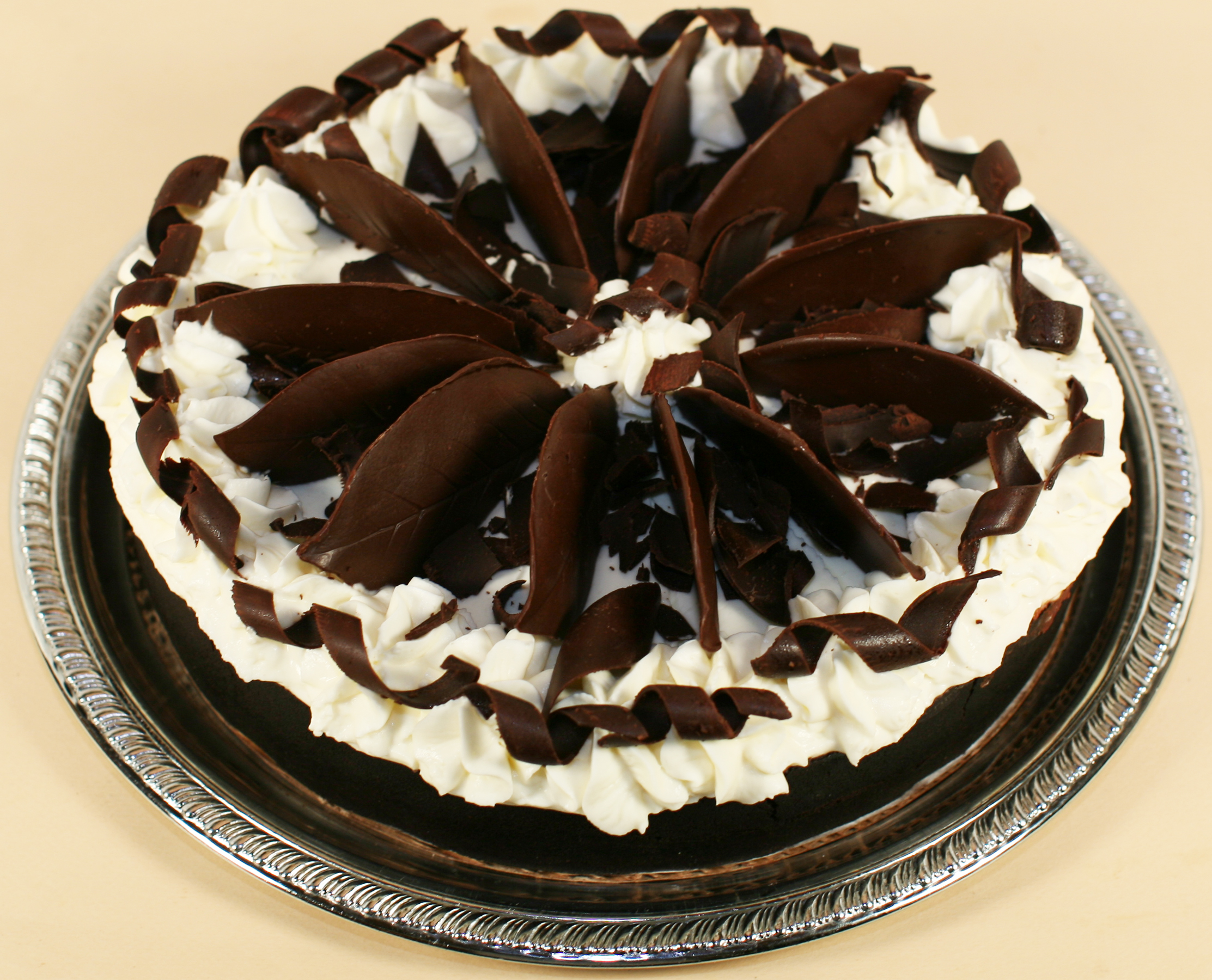 a-CHOCOLATE MOUSSE CAKE