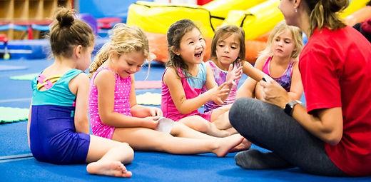 Pre-K preschool gymnastics program US Gym Mahwah NJ