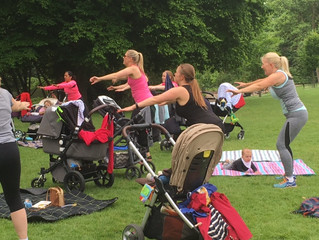Amazing Postnatal Outdoor Workout