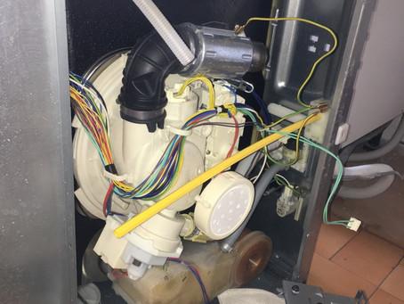 Intervention sur un lave vaisselle Whirlpool