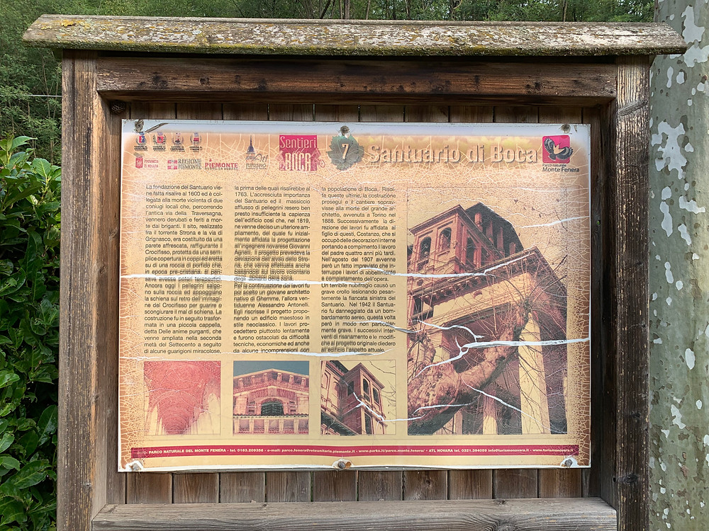 Santuario di Boca, Piemonte